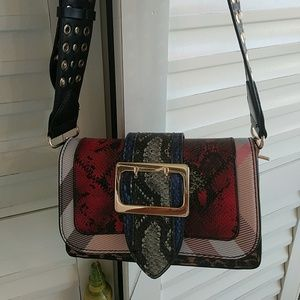Handbags - PATCHWORK LEATHER BAG